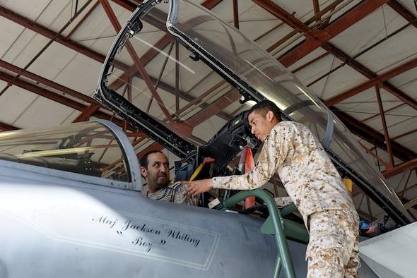 Col. Bader M. Alotaibi visits RSAF students
