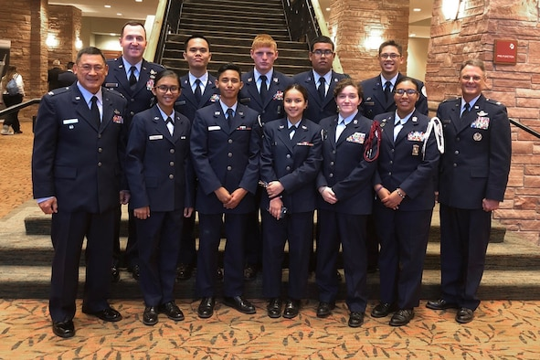 Air Force Junior ROTC teams 'stellar' at competition