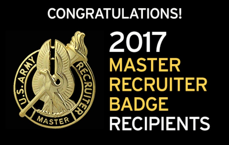 23 recruiters earn master recruiter badge in 2017