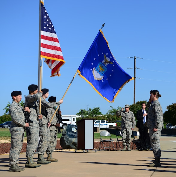 The 9th Security Forces Squadron hosted a National Police Week memorial ceremony May 18, 2018, at Beale Air Force Base, California.