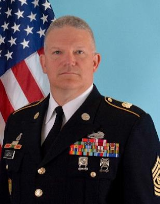 Command Sgt. Maj. H. H. George Luedtke