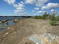 Photo at Braddock Bay in Greece, New York, site of a USACE, Buffalo District Ecosystem Restoration project.