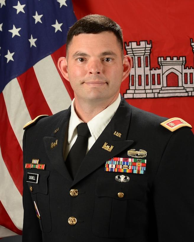 Official photo of Albuquerque District Commander Lieutenant Colonel Larry (Dale) Caswell, Jr.