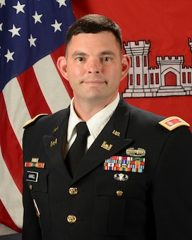 Lt. Col. Larry (Dale) Caswell, Jr. assumed command of the U.S. Army Corps of Engineers Albuquerque District during a formal change of command ceremony, May 18, 2018.