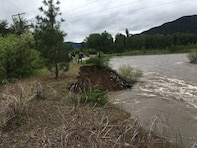 Flood teams from the Seattle District, U.S. Army Corps of Engineers, will initiate work today on the Turah Levee in Missoula County, Montana. The $161,550 project is designed to stabilize and protect the levee by repairing a 150-foot scour hole.