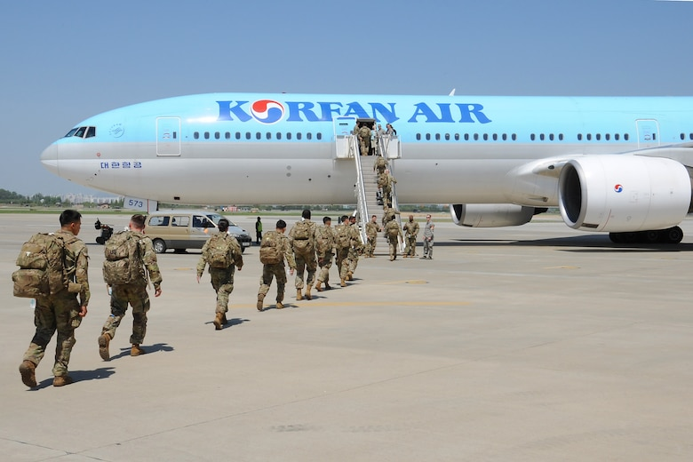 Korean Air Supports Movement Of Troops 7th Air Force Article Display