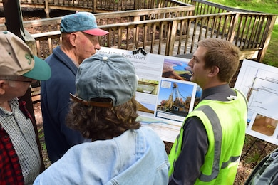 The Pittsburgh District is hosting a public tour of the East Branch Dam Safety Initiative to include the seepage cutoff wall construction site.