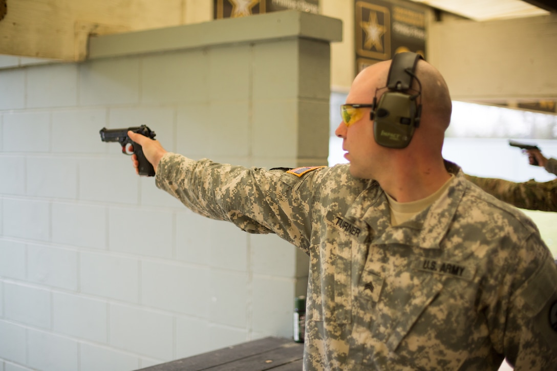 Soldiers Compete in 2018 All Army Small Arms Championship