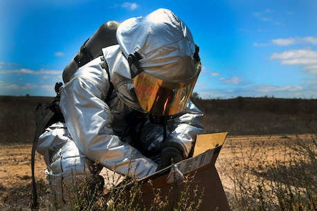 Into the danger zone: MCAS Miramar ARFF conducts HAZMAT exercise