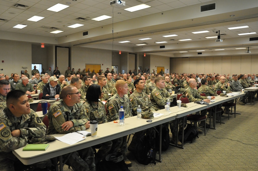 """""""The Final Planning Meeting for Northern Strike 2018 took place May 15-17 at the Alpena CRTC."""
