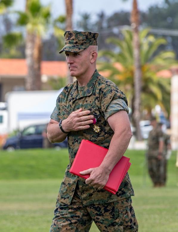 Porterfield replaced Sgt. Maj. Bradley Kasal as I MEF sergeant major.