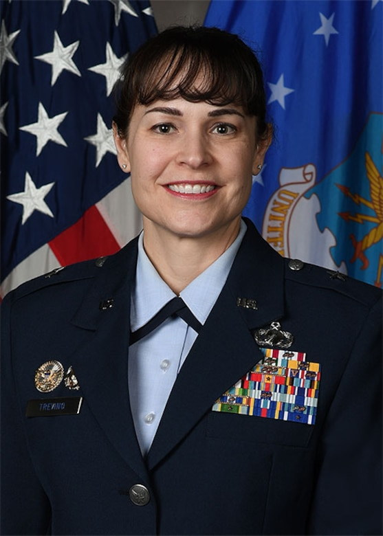 BRIGADIER GENERAL ALICE WARD TREVINO