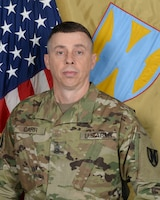 Command Sgt. Maj. Rocky L. Carr, Senior Enlisted Leader, 21st Theater Sustainment.