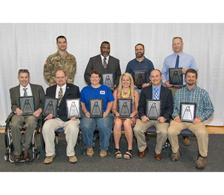 On May 8, the Federal Executive Association (FEA) held its annual Memphis Metropolitan FEA Employees of the Year Ceremony. Memphis District employees earned first-place in 10 of the 14 categories in which Memphis District submitted nominations.