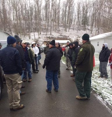 FUDS forum & WV Maneuver Area Site Visit