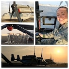 Tech. Sgt. Lindsey Bond, maintenance analyst, 158th Fighter Wing, Vermont Air National Guard.