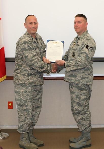 Nelson Receives Commendation Medal