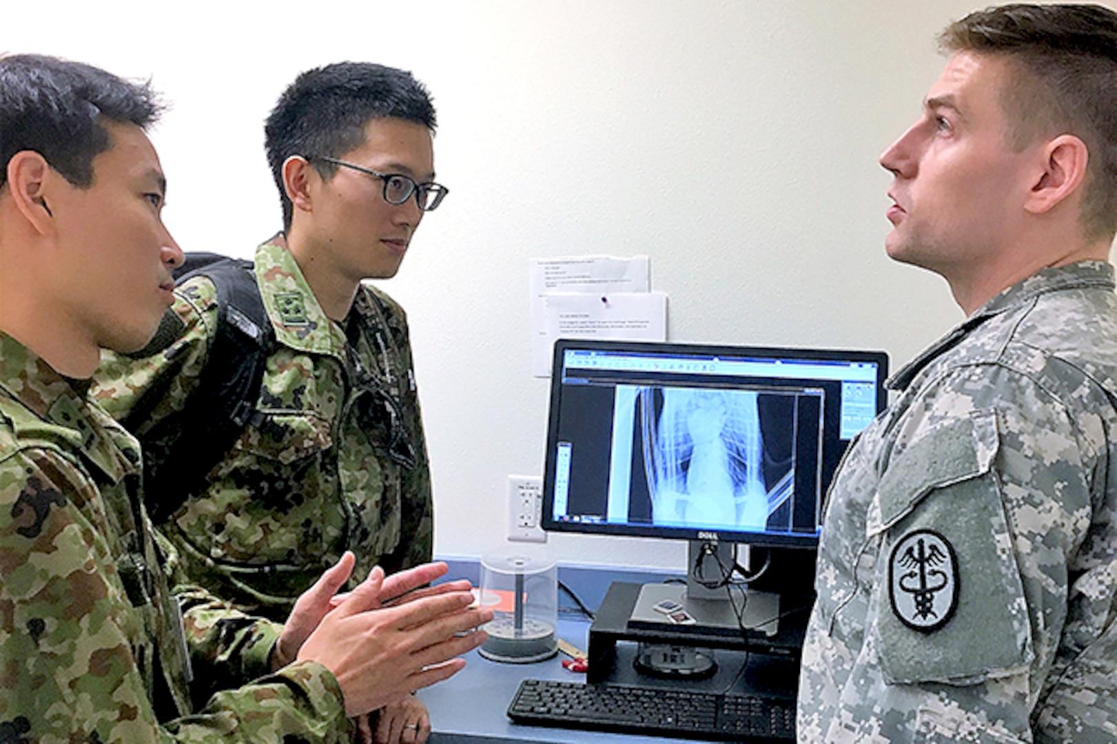 Pacific allies observe U.S. military medicine