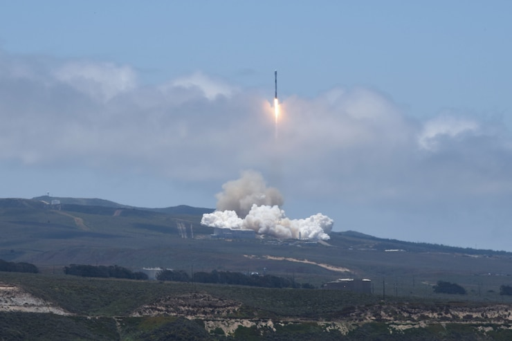 Team Vandenberg successfully launched a Falcon 9 rocket carrying both Iridium and Grace FO payloads from Space Launch Complex-4 here, Tuesday, May 22, at 12:47 p.m. PDT.