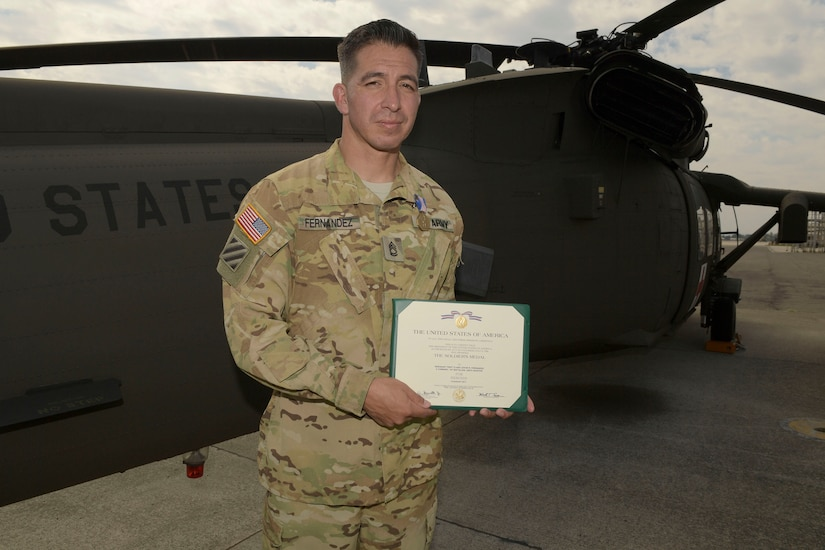 JTF-Bravo soldier receives medal for heroism in Honduras