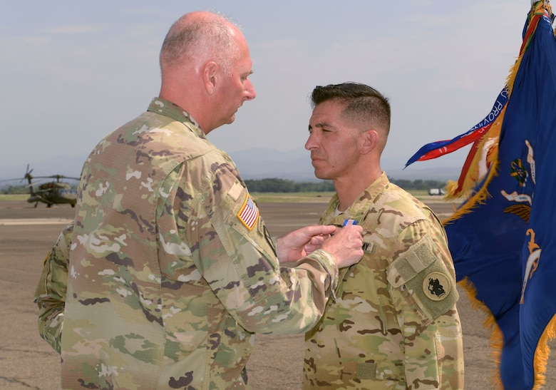 JTF-Bravo soldier receives medal for heroism in Honduras