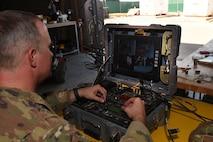 Chief controls robot