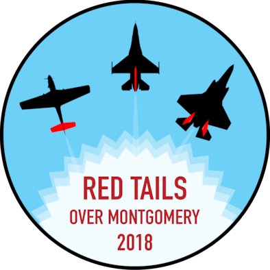 Red Tails Over Montgomery Air Show Logo