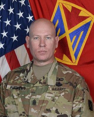 Command Sgt. Maj. Gary E. Plotnick
