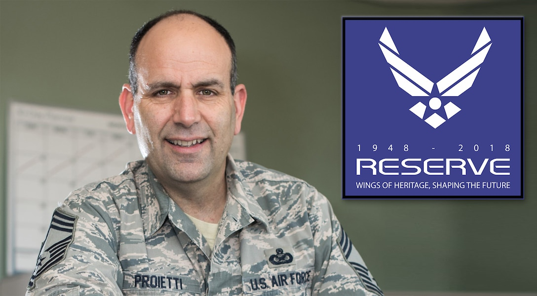 Chief celebrates 30 years as a Reservist, and Air Force Reserve's 70th Anniversary