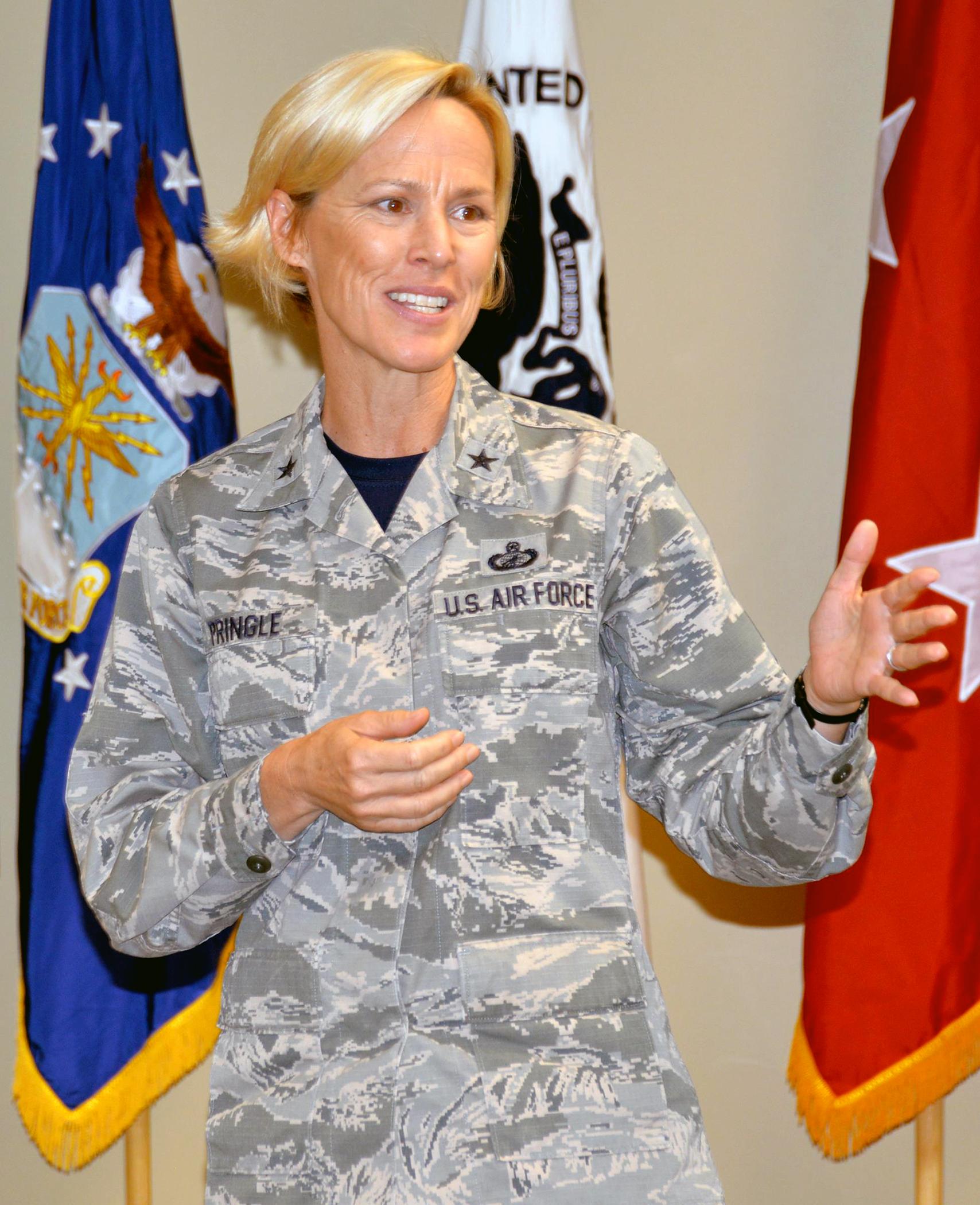Brig Gen Heather Pringle Bids Farewell To Joint Base San
