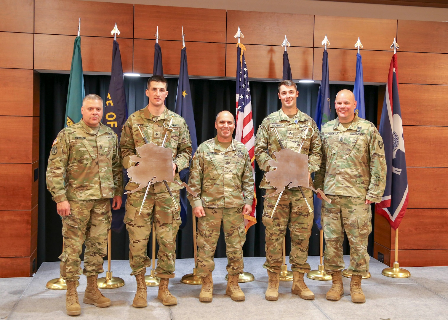 Army Guard Region VI names top Soldier, NCO for 2018 Best Warrior Competition