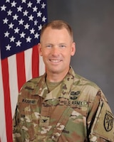 Colonel Todd R. Wasmund, 1st Infantry Division Deputy Commanding Officer for Support
