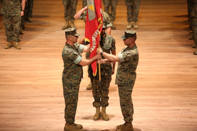 Marine Corps acquisition welcomes new commander