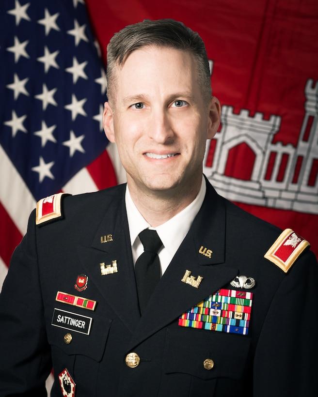 Rock Island District Commander Col. Steve M. Sattinger