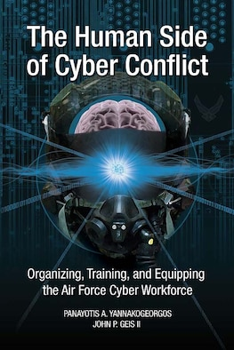 Book Cover - The Human Side of Cyber Conflict