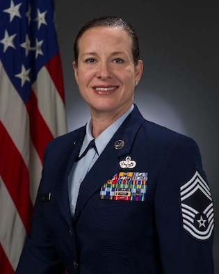 Chief Master Sgt. Shae Gee, official photo