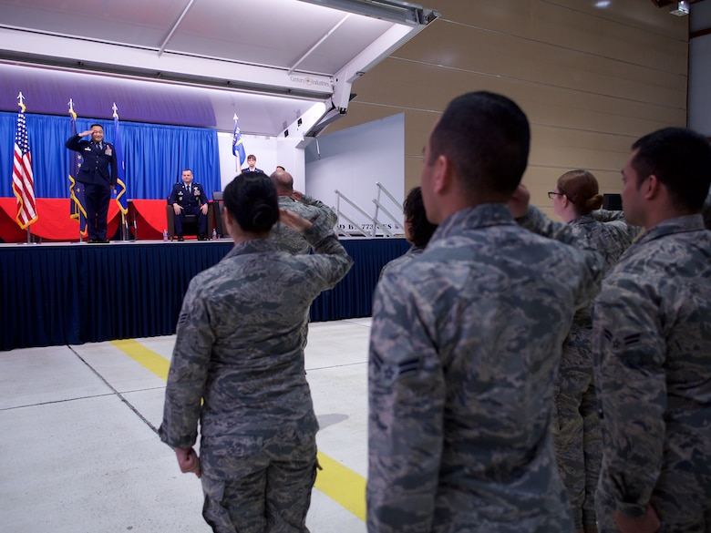 Bailey takes command of the 176th Mission Support Group.