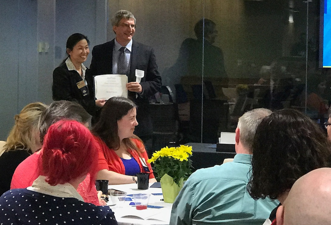 Army Corps chief knowledge officer receives Kent State University Award