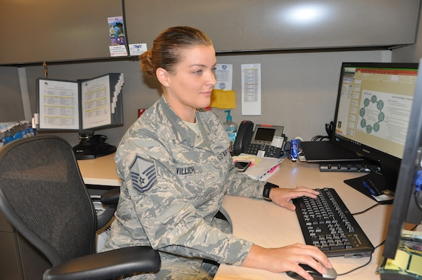 Master Sgt. Kourtney Willich (U.S. Air Force photo by Janis El Shabazz)