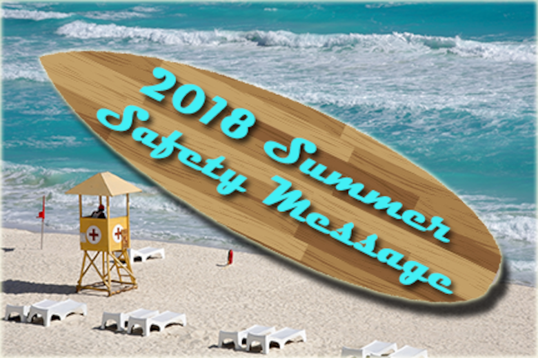 2018 Summer Safety Message