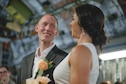 Match Made in Medical: JB Charleston flight nurses tie knot aboard C-17