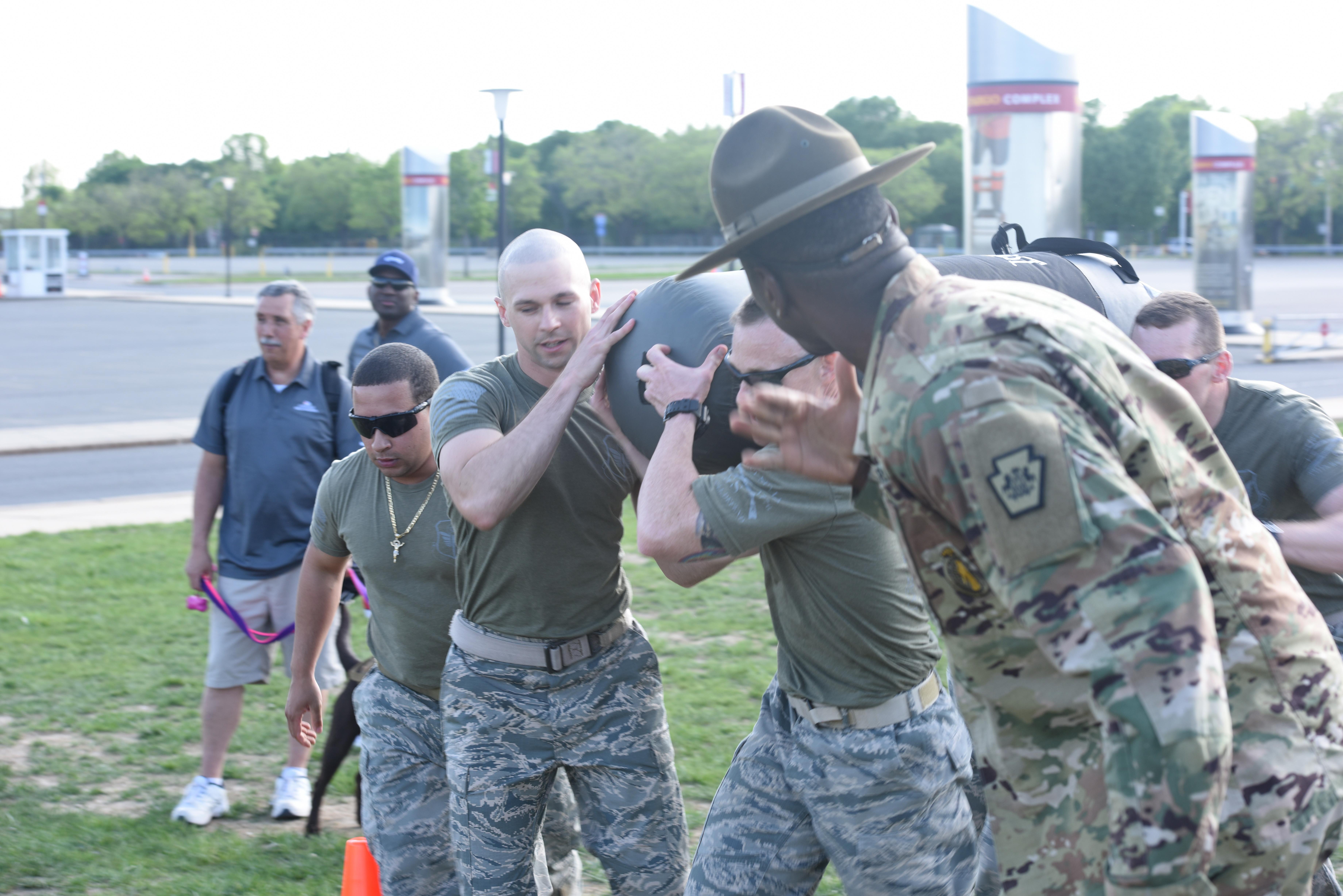 193rd SOSFS Airmen represent Pennsylvania Air National Guard in PT