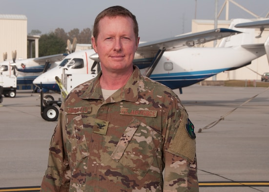 Col. Les Bradfield, 919th Special Operations Wing commander