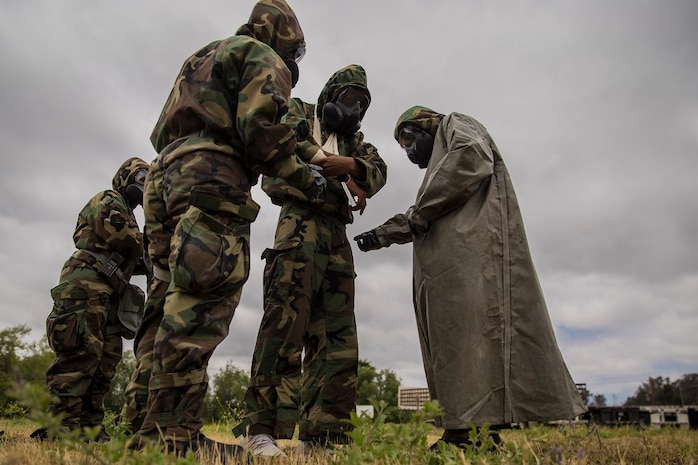 1st Medical Battalion - Chemical, Biological, Radiology and Nuclear Training