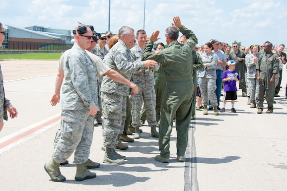 Saying Goodbye to the KC-135: Colonel's Fini Flight