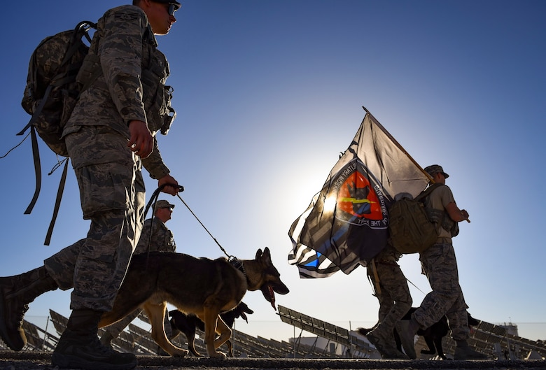 99th Security Forces Squadron Ruck March