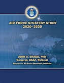 Book Cover - Air Force Strategy Study 2020-2030
