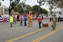 The Los Angeles District participated in the City of Torrance's 59th Annual Armed Forces Day parade here May 19.