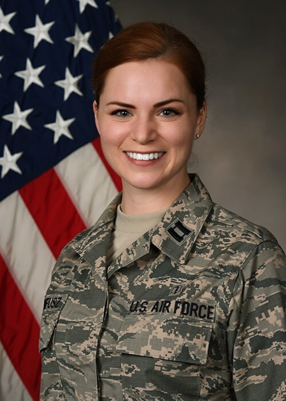 Capt. Andrea Krunnfusz is a clinical psychology resident at the 88th Medical Operations Squadron.