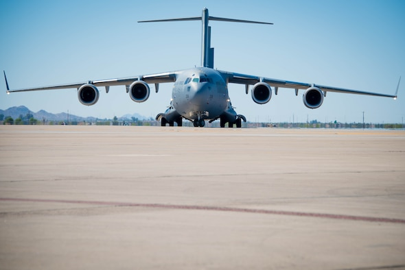 56 LRS receives supplies, strengthens partnership with RAAF Airmen